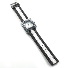 Black and White Square Watch