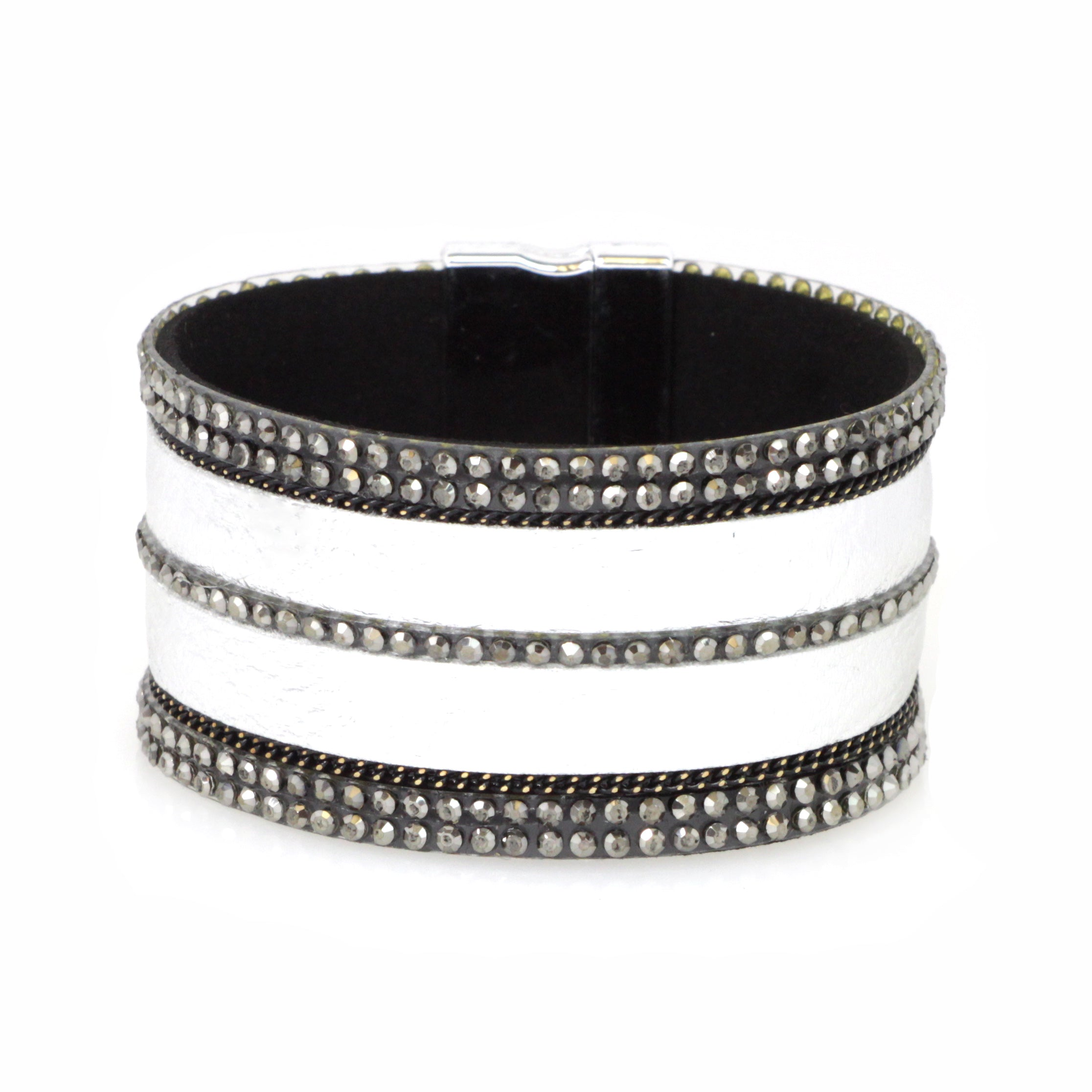 Genuine Leather Magnetic Bracelet
