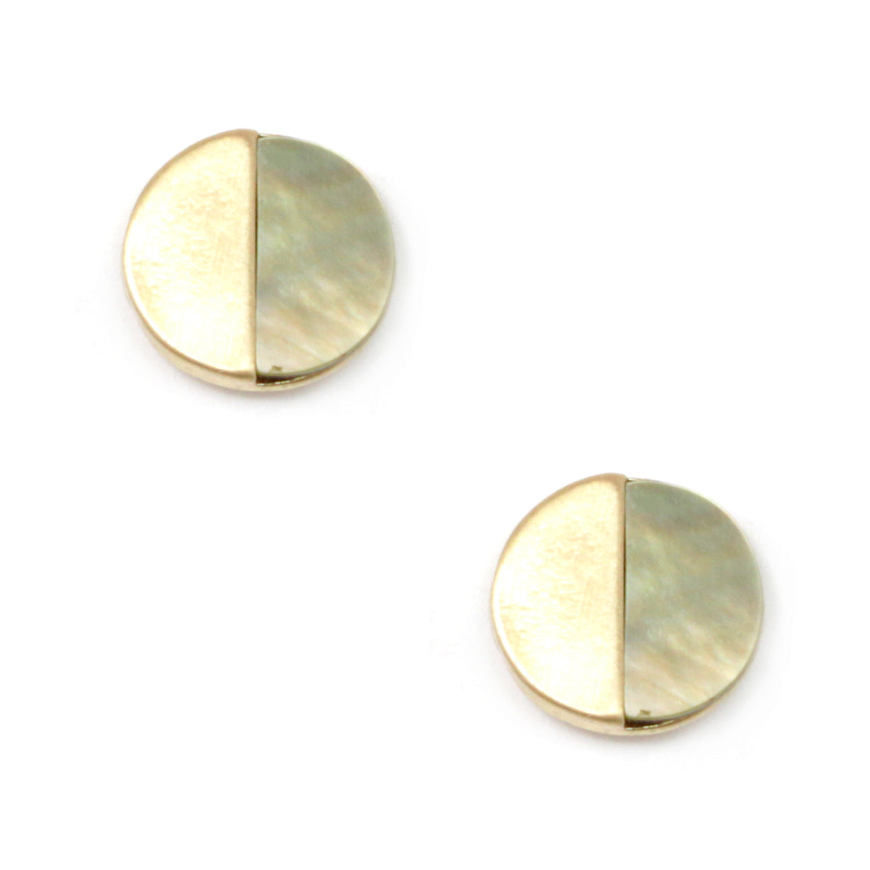 Semi Precious Mini Studs Earrings