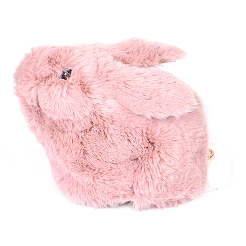 Cute Bunny Faux Fur Clutch/ Crossbody Bag