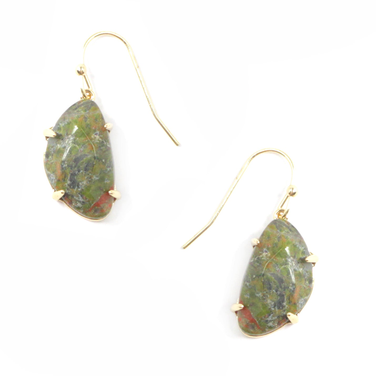 Semi Precious Stone Mini Earrings