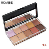 Makeup Concealer Contour Palette Primer Flawless 10 Color Scar Concealer - The Accessory Nook  - 2