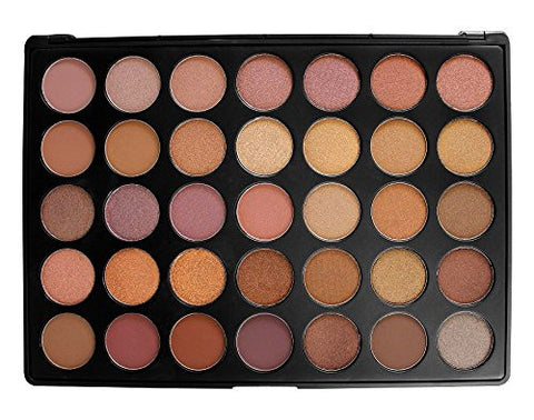 Professional Epic 35 Color Eyeshadow Makeup Contour Beauty Pigmented Palette - The Accessory Nook  - 1