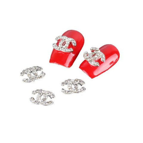 5pc 3D Rhinestone Bead Nail Art Professional Detail Professional Salon Quality Decoration - The Accessory Nook  - 1