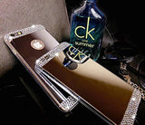 Mirror I Phone 6 case with Diamond Rhinestone and screen protector Included - The Accessory Nook  - 2