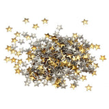 3D Design Gold & Silver Metallic Star Studs  Professional Nail Design Art Stickers - Star - The Accessory Nook  - 2