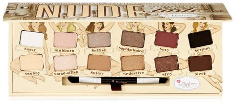 NUDE 'tude Eyeshadow Makeup Dramatic Eye Cosmetic Satin Smooth Palette - The Accessory Nook  - 1
