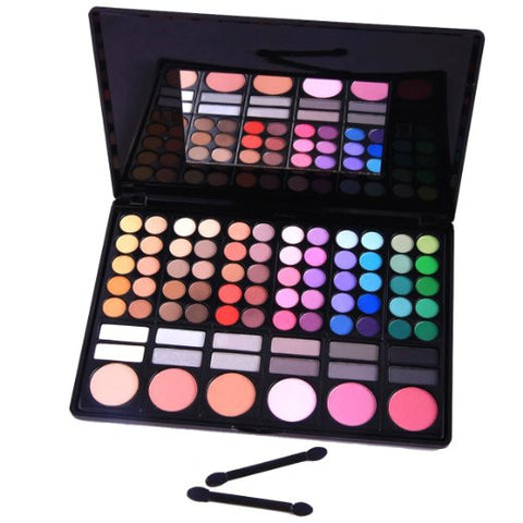Eyeshadow Nation 78 Color Professional Beauty Kit Cosmetic Beauty Makeup Palette - The Accessory Nook  - 1