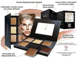 Aesthetica Cosmetics Cream Countour Highlighting Makeup Foundation Kit - The Accessory Nook  - 1