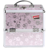 Professional Makeup Cosmetic Beauty Orgainizer Case Pink - The Accessory Nook  - 6