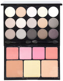 NYX Naked Eye Makeup Palette Beauty Blendable Shadow Nude Cosmetics - The Accessory Nook  - 1