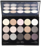 NYX Naked Eye Makeup Palette Beauty Blendable Shadow Nude Cosmetics - The Accessory Nook  - 2