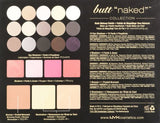 NYX Naked Eye Makeup Palette Beauty Blendable Shadow Nude Cosmetics - The Accessory Nook  - 6