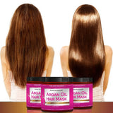 Argan Oil Hair Mask, 8 oz. Hair Treatment Therapy, Deep Conditioner for Damaged & Dry Hair - The Accessory Nook  - 1