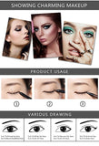 Professional Eye Liner Set - 12pcs Waterproof Eyeliner Pencil - Long Lasting - No Smudge Eyeliner - The Accessory Nook  - 3