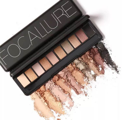 Focallure Eye Shadow Smudge & Waterproof Makeup Beauty Cosmetic Palette - The Accessory Nook  - 1