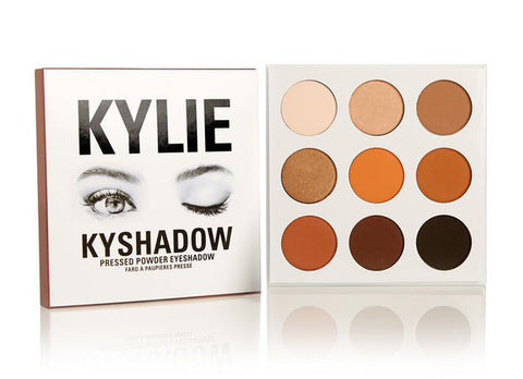 Kylie Kyshadow Jenner Eyeshadow Cosmetics Beauty Professional Makeup Palette 9 - The Accessory Nook  - 1