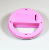 Clip on Cell Phone Selfie O Ring Light for Smart Phone IPhone in the Color Pink - The Accessory Nook  - 5