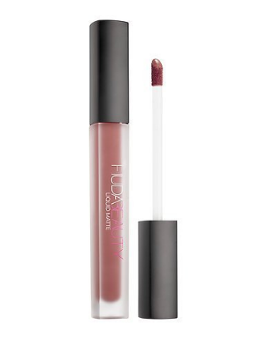 Huda Beauty Liquid Matte Cosmetic Beauty Lipstick - Bombshell subtle pinkish nude - The Accessory Nook