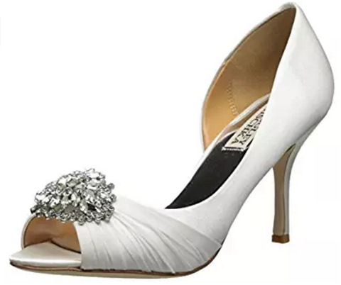 Badgley Mischka Women's Pearson D'Orsay Wedding Formal Elegant Pump - The Accessory Nook  - 1