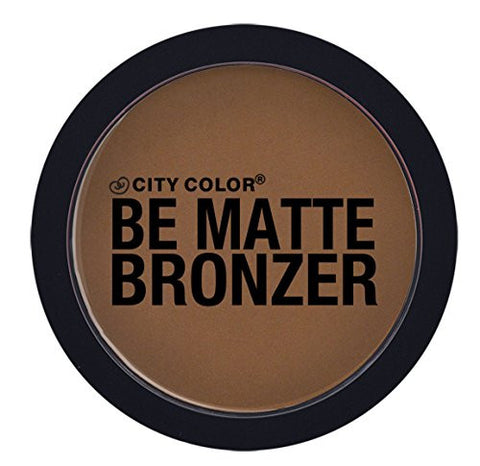 Matte Makeup Epic Cosmetic Face Powder Bronzer in Brown Sugar by City Color Great for Contouring - The Accessory Nook