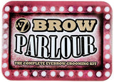 The W7 Brow Parlour Eyebrow Grooming Makeup Cosmetic Beauty Kit With Wax & Tweezers - The Accessory Nook  - 2
