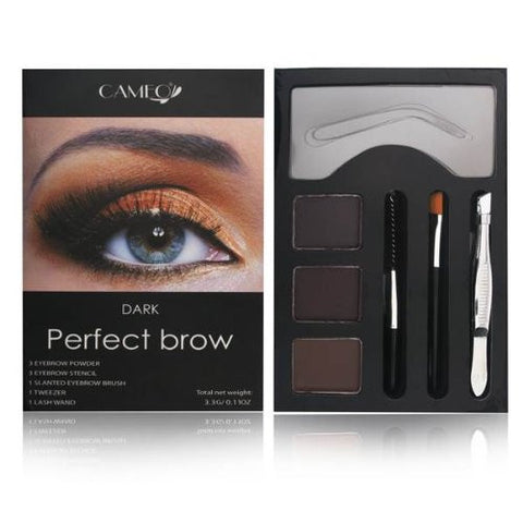 Perfect Brow Makeup Dark Brown Beauty Eye Shape Shade Cosmetics - The Accessory Nook