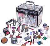 Professional Carry All Makeup Kit EyeshadowPedicure Manicure Cosmetic Case - The Accessory Nook  - 1