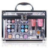 Professional Carry All Makeup Kit EyeshadowPedicure Manicure Cosmetic Case - The Accessory Nook  - 3