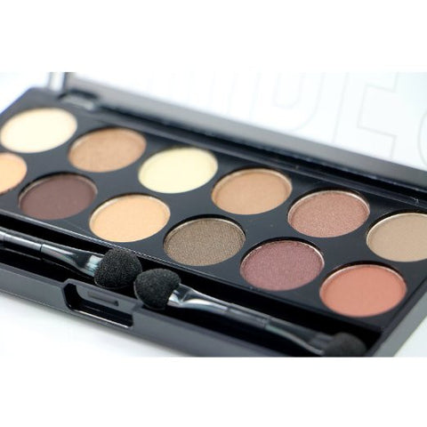 Nudes Colors Eyeshadow Beauty Cosmetic Makeup Palette Set - City Color - The Accessory Nook  - 1