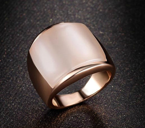 Rose Gold Plated Finger Ring Gift Jewelry For Men & Women - The Accessory Nook