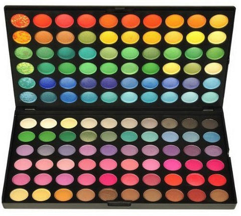 120 Color Eye Shadow Palette Professional High Pigmented Makeup Cosmetic Kit - The Accessory Nook