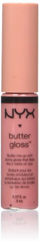 NYX Cosmetics Butter Lip Gloss Creme Brulee Cosmetic Fashion Makeup - The Accessory Nook