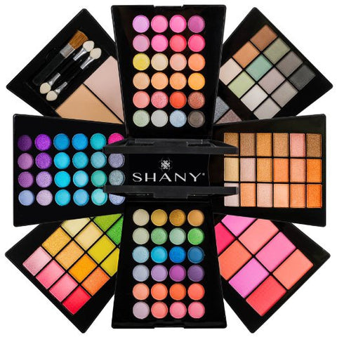 Beauty Cosmetics Makeup Palette  All-in-One Makeup Set with Eyeshadows, Face Powders, Blushes - The Accessory Nook  - 1