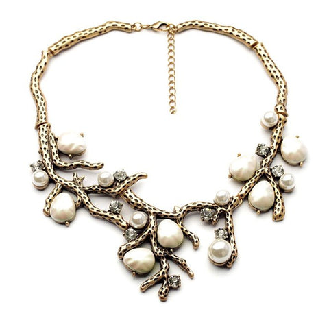 Sticks & Stones Statement Necklace - The Accessory Nook  - 1