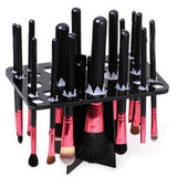 Air Drying Makeup Brush Organizing Tower Tree Rack Holder Cosmetic Tool Holder Beauty Accessory - The Accessory Nook  - 1