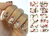 Water Transfer Nails Art Sticker Marble Design Nail Art Sticker Manicure Deco Cover - The Accessory Nook  - 2