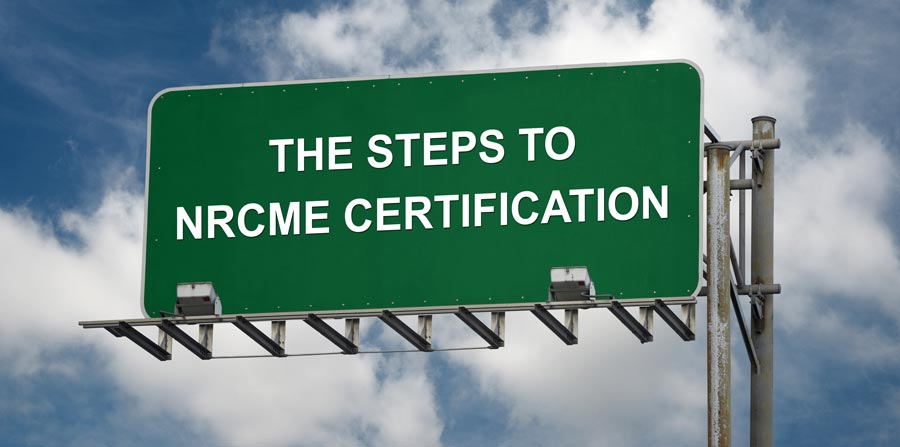 How to become NRCME certified