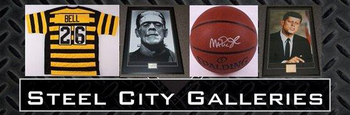 Steel City Galleries - Your autographed memorabilia source since 2001! Over 60,000 items in stock!