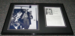 Mahdi Abdul Rahman aka Walt Hazzard Signed Framed 12x18 Photo Set UCLA Lakers