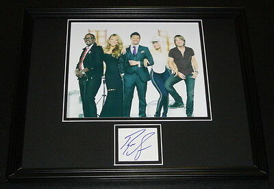Ryan Seacrest Signed Framed 11x14 Photo Display American Idol w/ Cowell Minaj