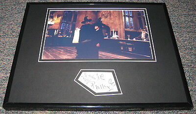 Leslie Phillips Harry Potter Signed Framed 11x14 Photo Display