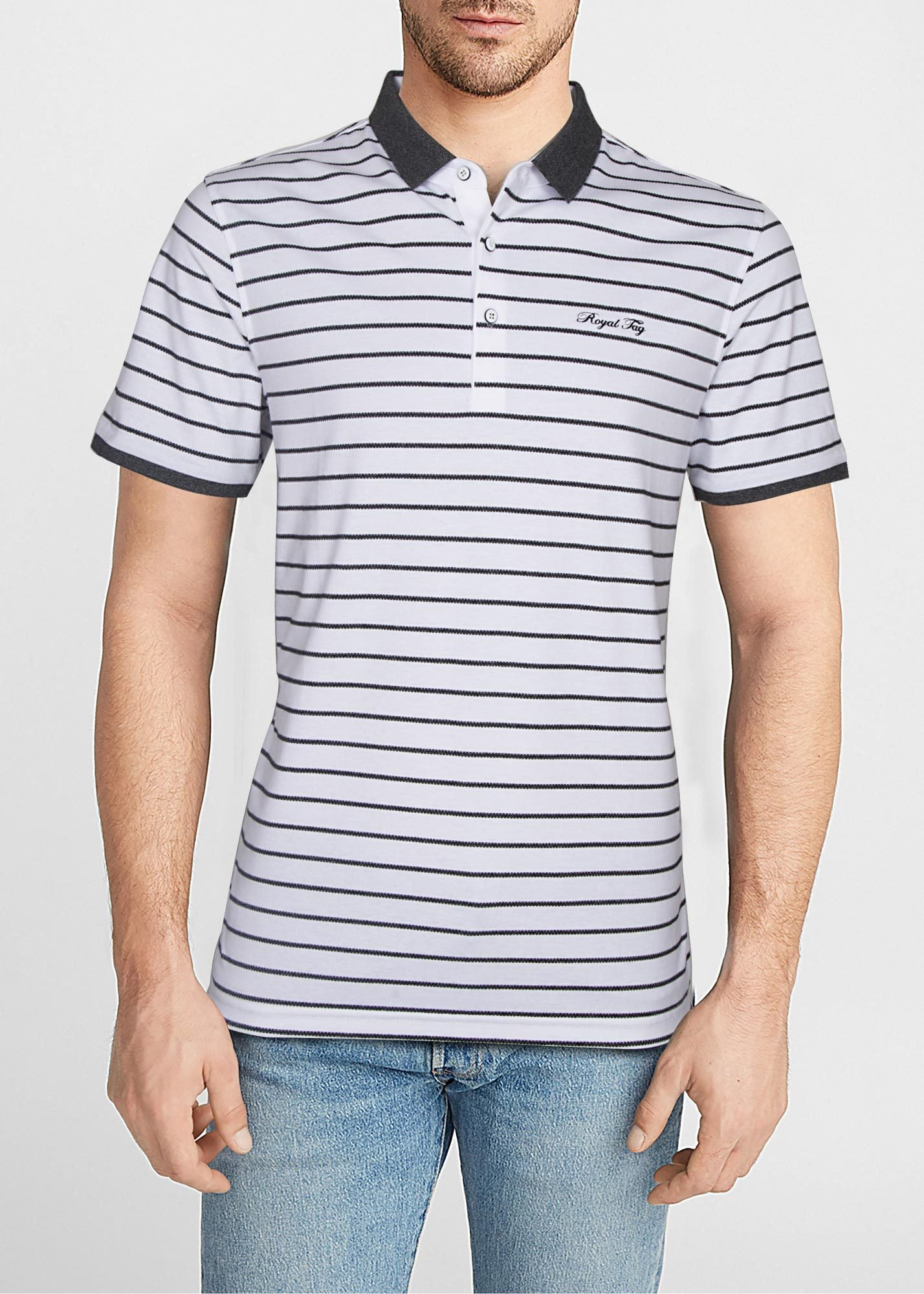 POLO SHIRT 8735-WT