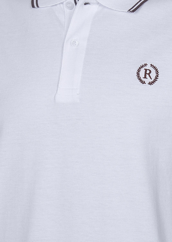 RT POLO SHIRT C11917-WT