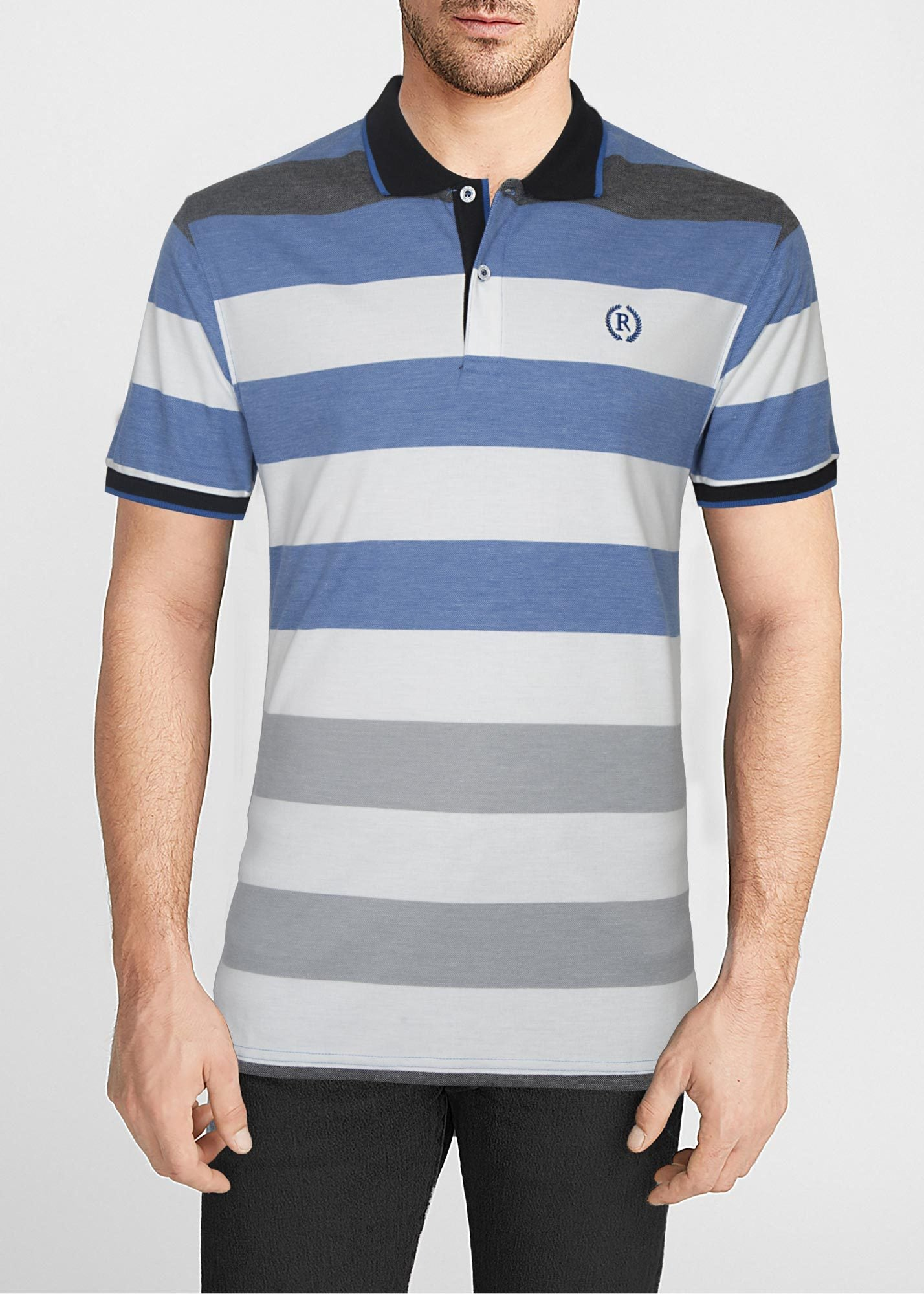 POLO SHIRT C11918-BL