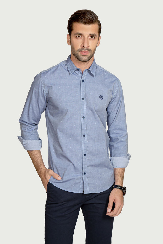 RT Casual Shirt  F/S LINING L20512-1