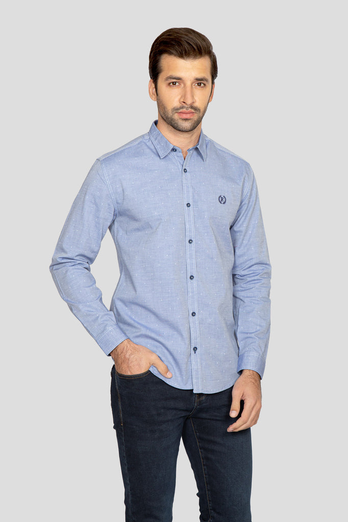 RT Casual Shirt  F/S LINING L20512-2