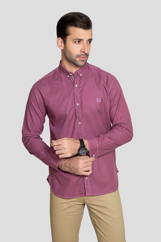 RT Casual Shirt F/S PL P19103-PK