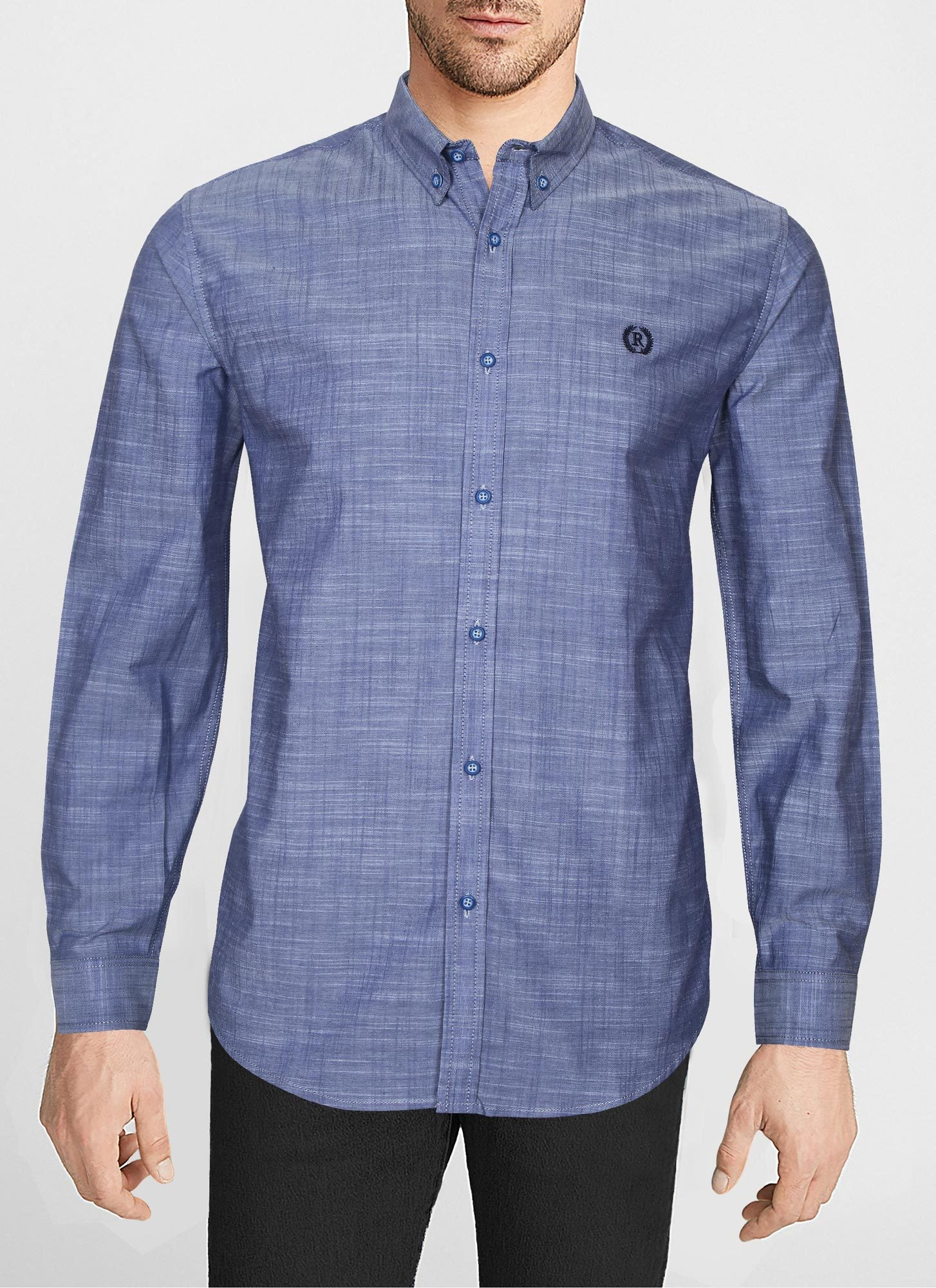 CASUAL SHIRT F/S PL P19322-LBL