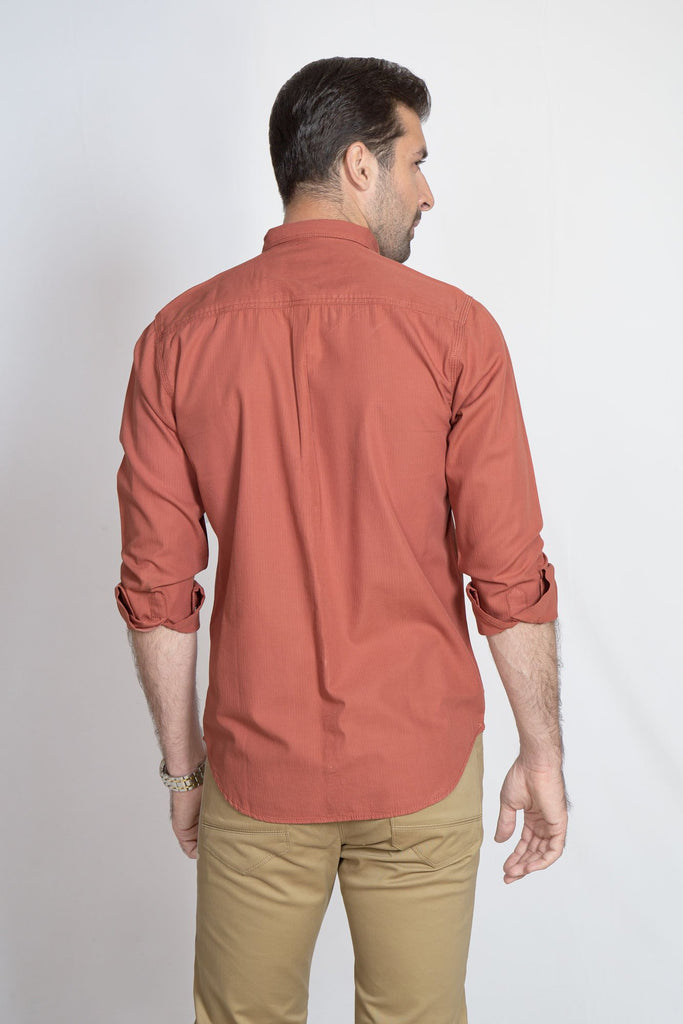 RT CASUAL SHIRT F/S PL P20802-RST